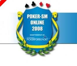 Onlinepoker-SM 2008 - Resulat mörkpoker samt heads-up