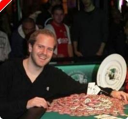 Michael Tureniec wint eerste toernooi Master Classics of Poker 2008 - Peter Eastgate chipleader...
