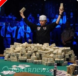Peter Eastgate е Шампион на WSOP 2008