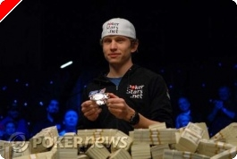 Peter Eastgate is the 2008 WSOP Champion, 'hahila' wins LEOCOP main event and more