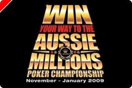 Tre $12 500 Aussie Millions paket från Titan Poker