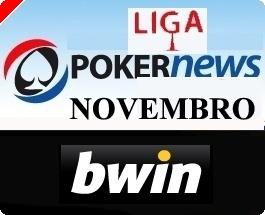 Liga PT.PokerNews Terça-feira 18 Novembro na BWIN