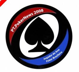 Alexandre Gomes Jogador do Ano 2008 - Prémios Poker Brasileiro PT.PokerNews