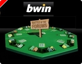 Final da Battle Of The Forums na Bwin Poker