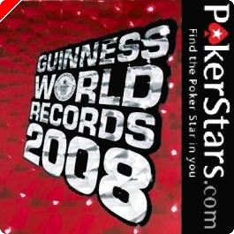 Recorde do Guinness na PokerStars - Torneio Com 35,000 Jogadores