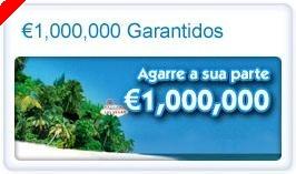 €1,000,000 Garantidos na Paradise Poker. HOJE!