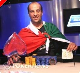 Salvatore Bonavena winnaar EPT Praag 2008