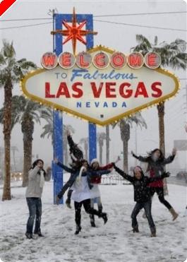 Сняг в Лас Вегас