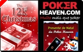 €12,000 Freeroll de Natal na Poker Heaven