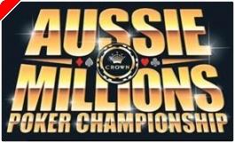 Aussie Millions; knallend het nieuwe jaar in