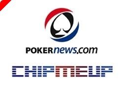 PokerNews omandas pokkeripanustamise veebilehe ChipMeUp