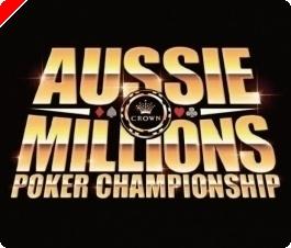 Aussie Millions Main Event 2009 – Tureniec med i topp efter dag 1b