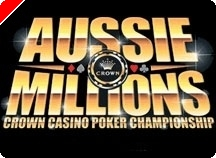 Terminaron los tres días 1 del Aussie Millions