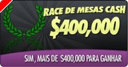 $400,000 Race de Mesas Cash na ChiliPoker!