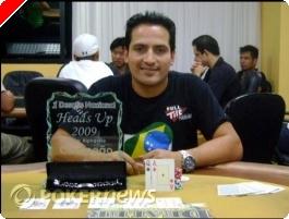 """Leandro """"Brasa"""" Pimentel Campeão Primeiro Desafio Nacional Heads-Up"""