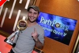 Roberto Romanello vyhrává European Open, Pokerstars zažilo největší víkend