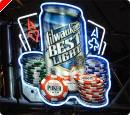 WSOP Mantém Milwaukee's Best Light Como Cerveja Oficial do Evento