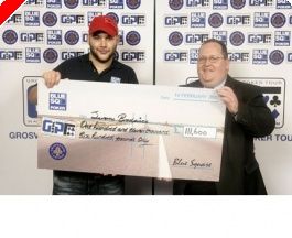 Jerome Bradpiece on Top in Walsall, London Poker Masters Next Week + more