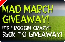 $50,000 Mad March GiveAway na Mansion Poker