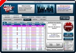 Poker online - Full Tilt Sunday $750,000 Guarantee : 'THE_GOLDMINE' trouve le bon filon