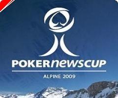 PokerNews Cup Alpine har nu äntligen startat