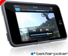 Jogue na Betfair Poker e Receba um iPod Touch