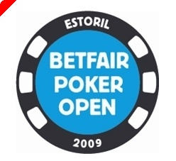 Panu Miettinen na Chip Lead do Betfair Poker Open Estoril