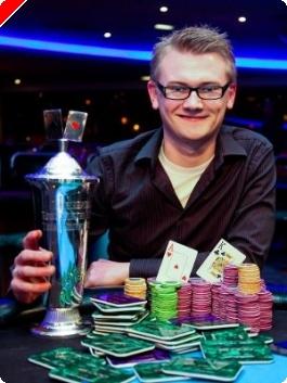 Henrik Tollefsen er Norgesmester i Poker 2009