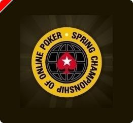 PokerStars.com Spring Championship of Online Poker Em Pleno Andamento