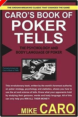"""""""Poker Tells"""" por Mike Caro - Libros de poker"""