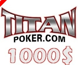 $1000 PokerNews Cash Freeroll na Titan Poker – HOJE!