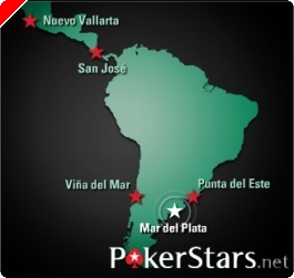 Final do Dia 1a do PokerStars LAPT Mar del Plata