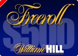 Série de $500 PokerNews Cash Freerolls na William Hill