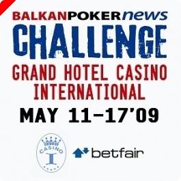 BALKANPOKERNEWS CHALLENGE 11-17 Maio, Patrocinado Pela Betfair Poker