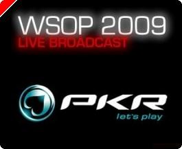 Live-streaming af WSOP 2009 i Europa hos PKR.com