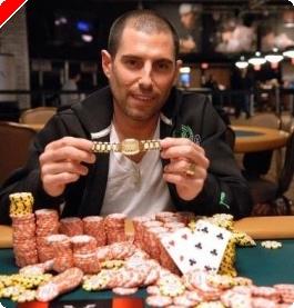 2009 WSOP - Kasinoansattes $500 Event #1, Cohen vinner den første Bracelet