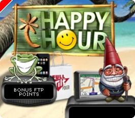 Triplique os Seus Pontos Durante a Happy Hour na Full Tilt Poker