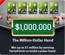 Ganhe $1,000,000 com a Party Poker Million Dollar Hand