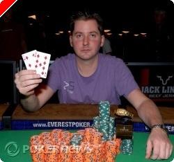 WSOP 2009: NLHE #36, Jordan Smith Ganhou a Sua Primeira Bracelete