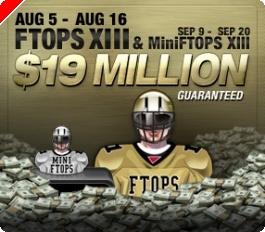 Full Tilt Poker Anunciou Datas das FTOPS XIII e MiniFTOPS