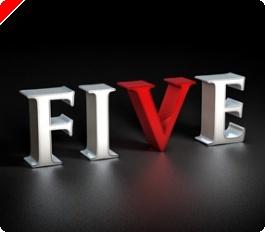 Venha Festejar o 5º Aniversário da Full Tilt Poker Com Grandes Promoções
