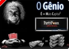 Party Poker Prolonga Promoção 'O Génio'!
