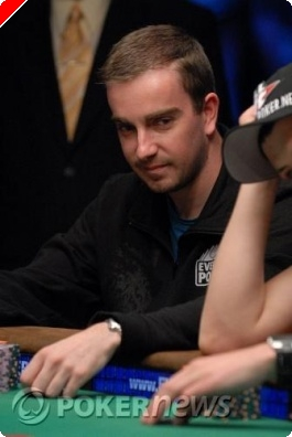 WSOP table finale 2009 - Antoine Saout joueur Everest Poker parmi  les 'November Nine'
