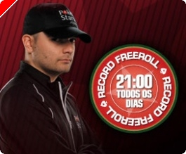 Freerolls Record Todos os Dias na PokerStars!