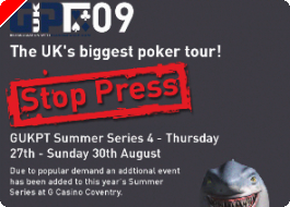 GUKPT Coventry Announced, Channing Confirms Akenhead Percentage