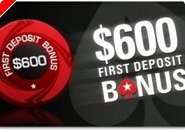Το μεγαλύτερο Bonus Εγγραφής και Reload Bonus του Pokerstars