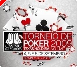 Ganhe um buy-in de €170 para o Torneio Casino da Madeira