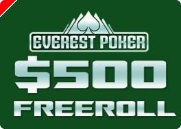 ¡Everest Poker ofrece con PokerNews un Año 2009 repleto de Freerolls!