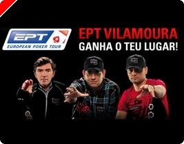 Hoje Último Freeroll EPT Vilamoura – Ganhe o Seu Lugar na PokerStars!