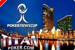 Hoje às 19:00, PokerNews Cup $6,000 Freeroll na Titan Poker!